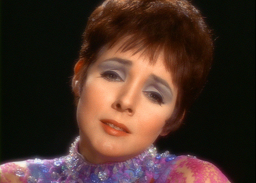 Photo of Kathryn Hays playing Gem the Empath on Star Trek