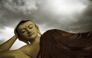 Photo of reclining Buddha