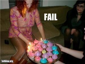 Photo of fail cake
