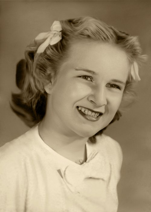Photo of Mom at age 12