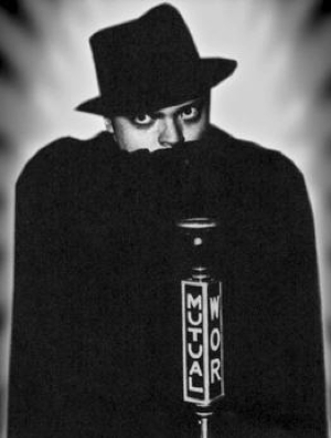 Photo of Orson Wells as The Shadow