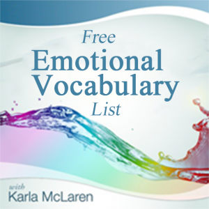 dictionary of feelings and emotions