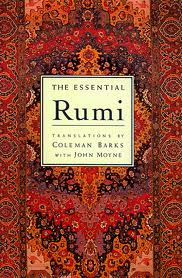 Cover of The Essential Rumi, translated by Coleman Barks