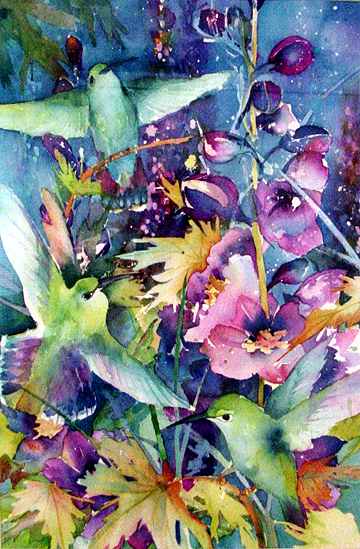 Hummingbirds by K Rudolph