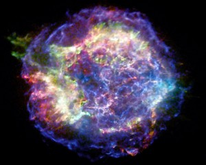 photo of supernova