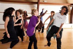 dancing folks