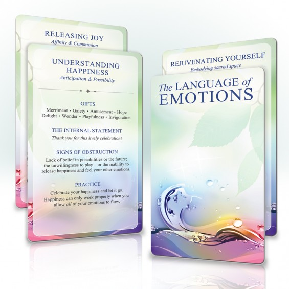 The Language of Emotions cards