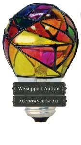 autism acceptance light