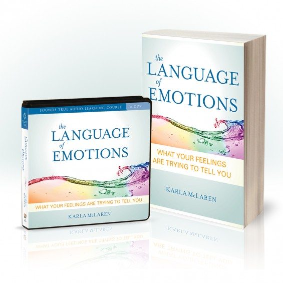 Audio and book covers for The Language of Emotions