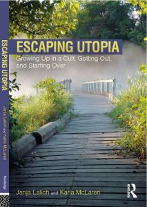 Cover of Escaping Utopia book