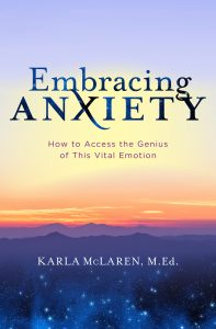 Book cover for Embracing Anxiety